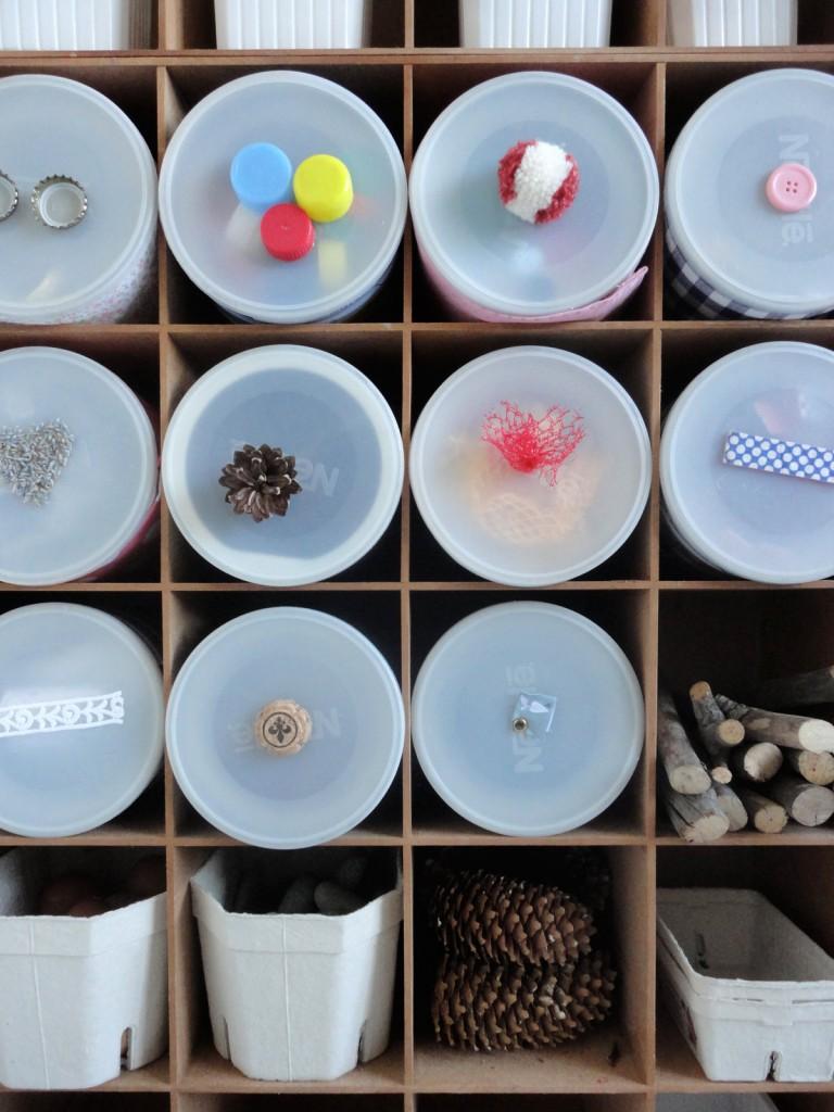 Honigkukuks Materialsammlung