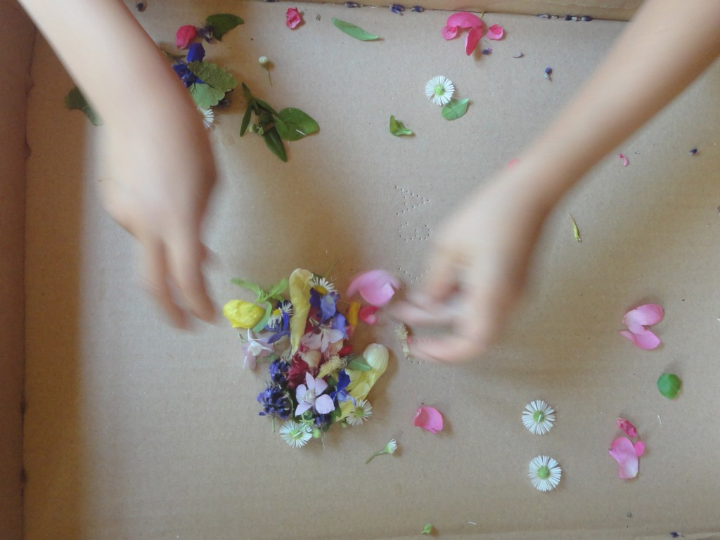 Blüten Hände