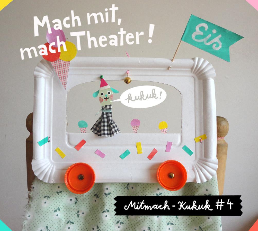 Eiswagen-Puppentheater
