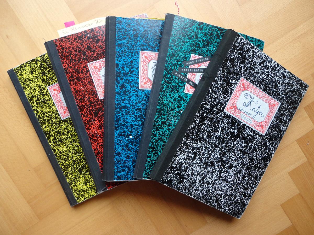 5 Ideenbücher