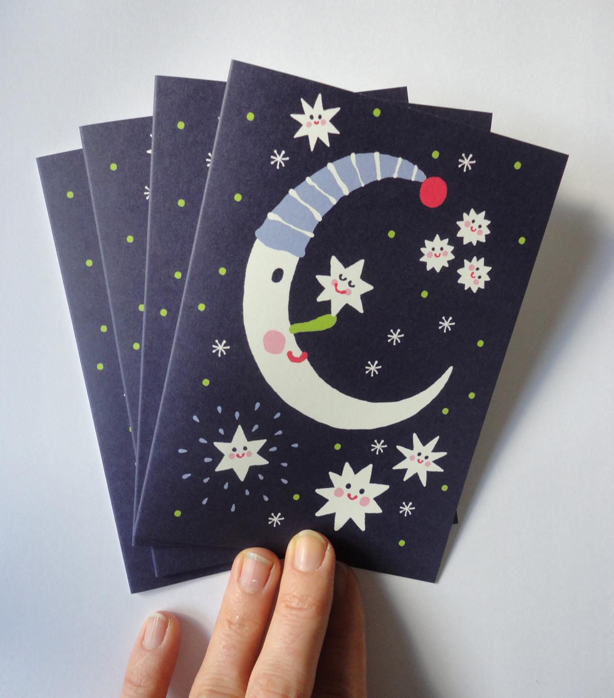 Mond Grusskarten