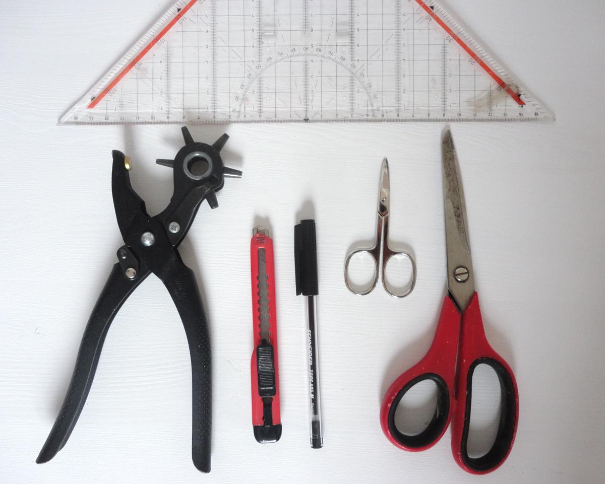 benoetigte Werkzeuge