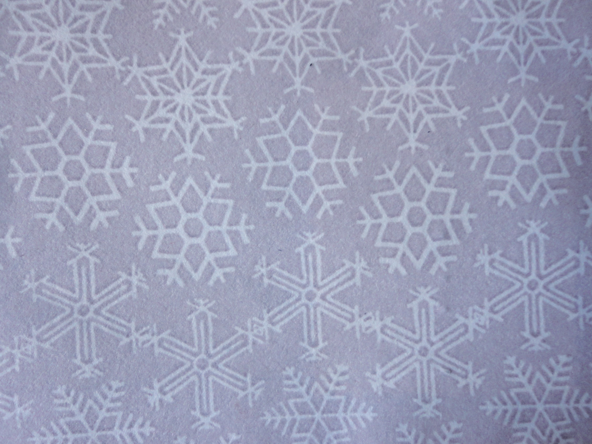 Schneekristallmuster