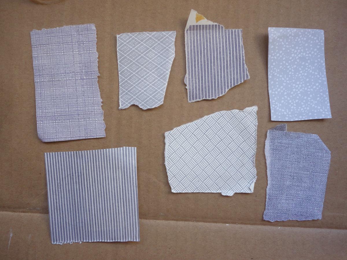 Briefpapierschnipsel