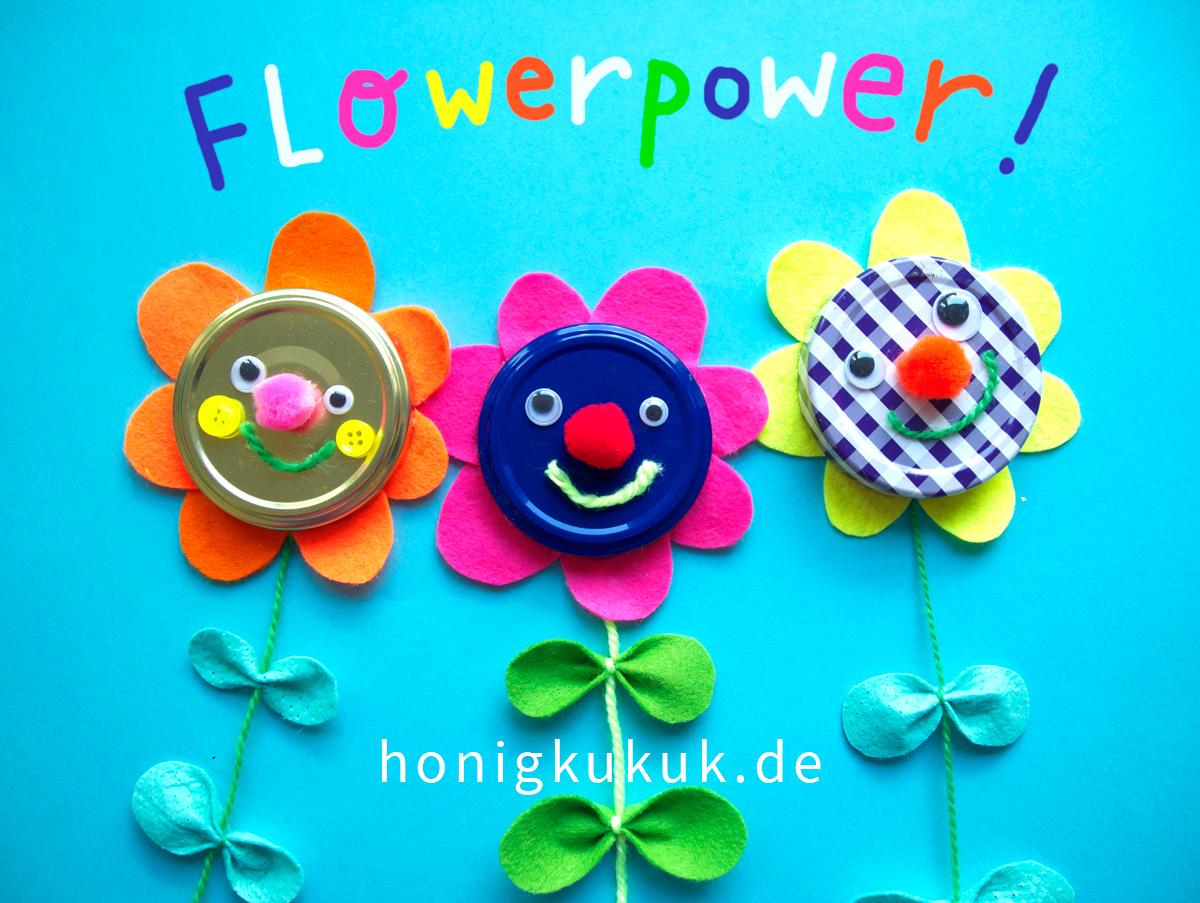 Wandblumen. Flowerpower!