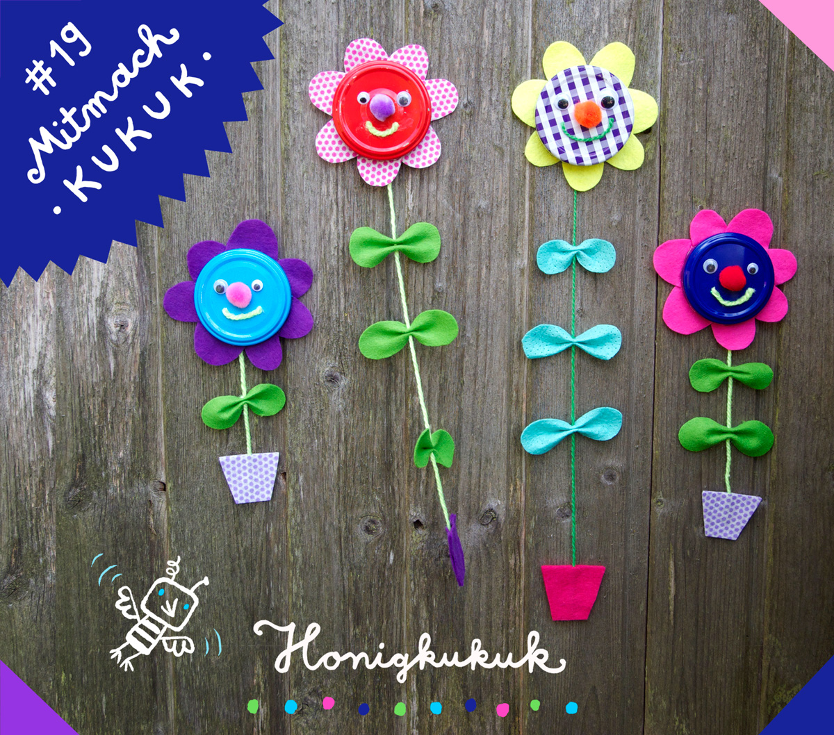 Mitmach-Kukuk # 19, Wandblumen