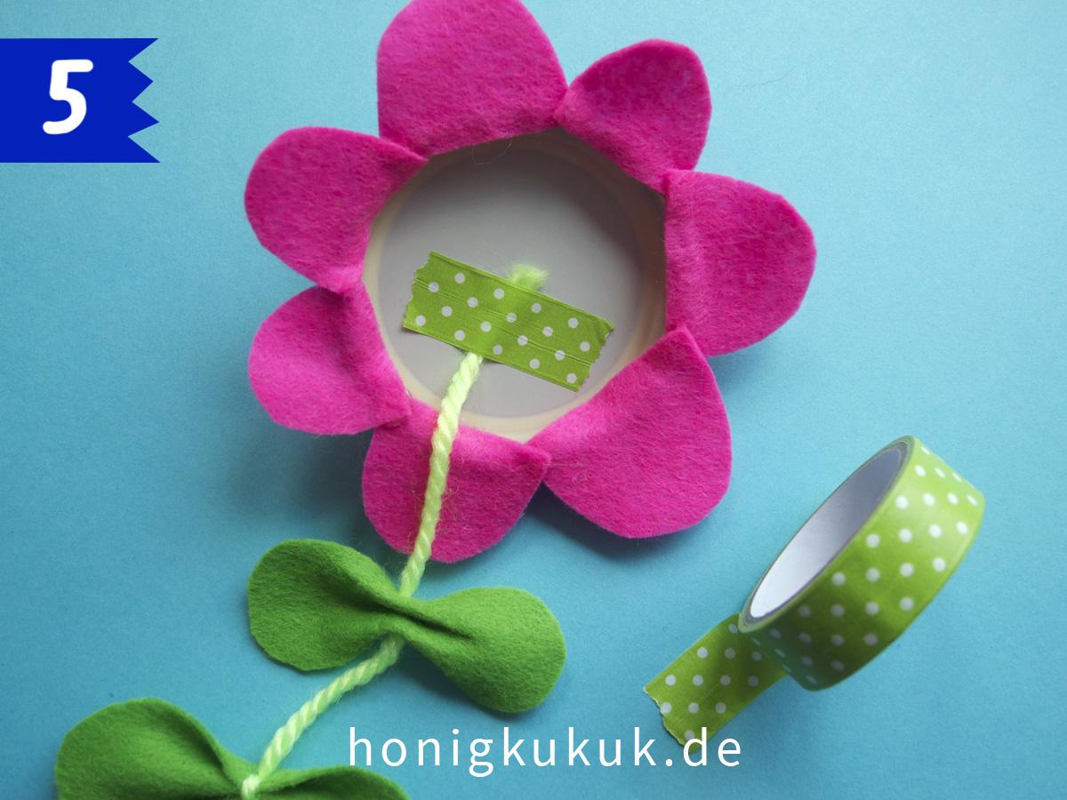 Wandblumen, Step 5