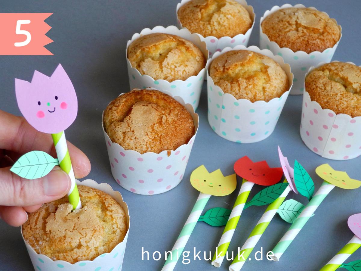 Muffin Topper Basteln, Schritt 5