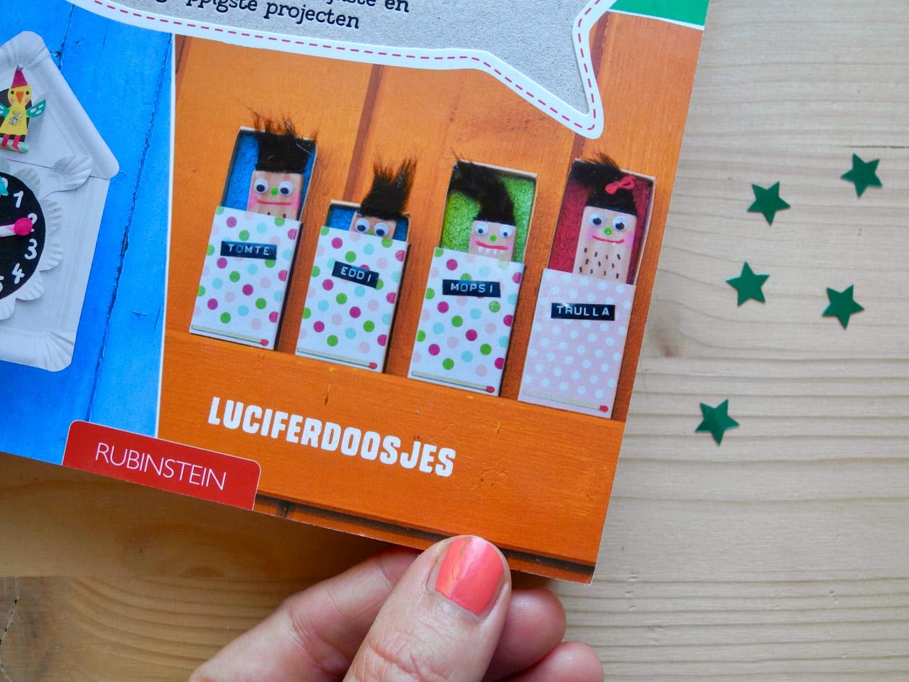 Knutselen met kinderen, Mach was draus Bastelbuch auf Niederländisch