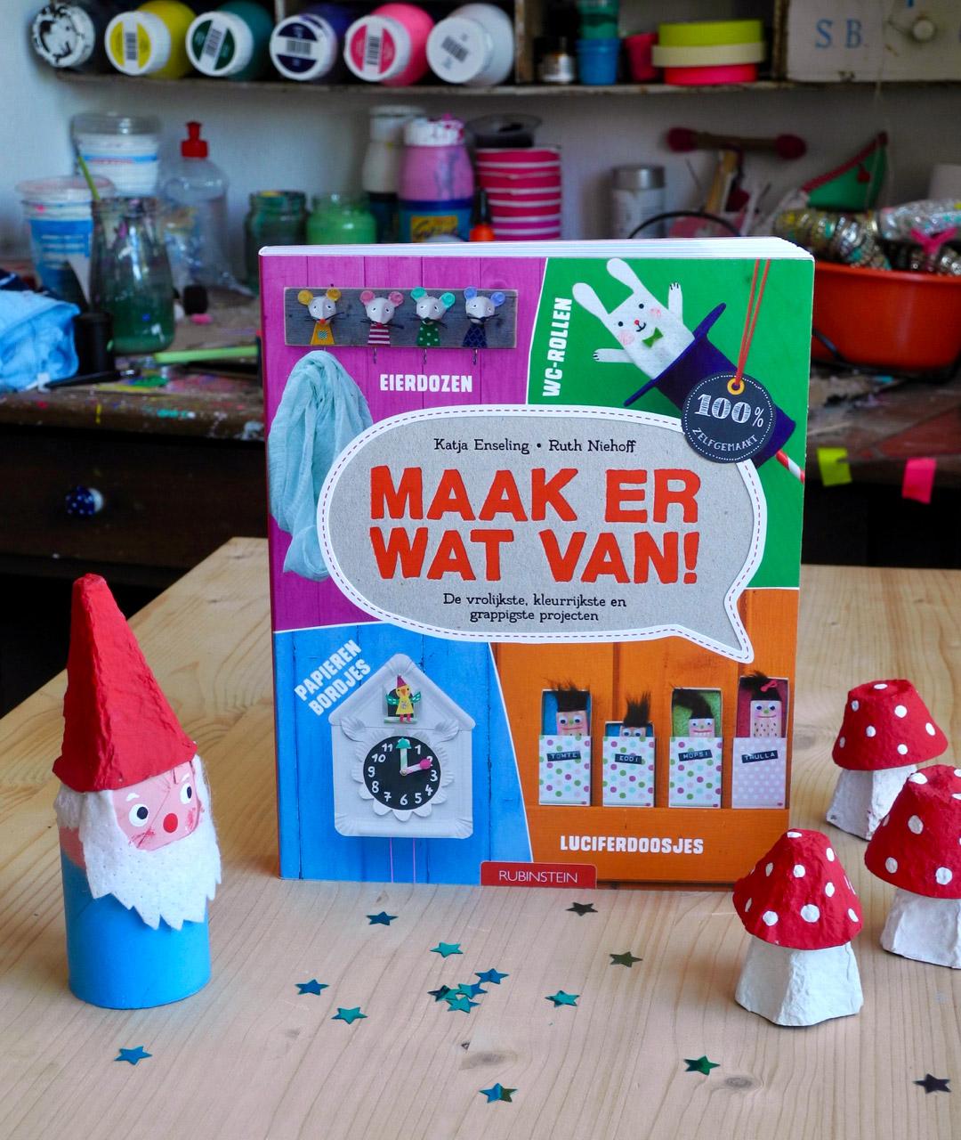 Maak er wat van!, Knutselen met kinderen, 1.Mach was draus!- Band auf niederländisch