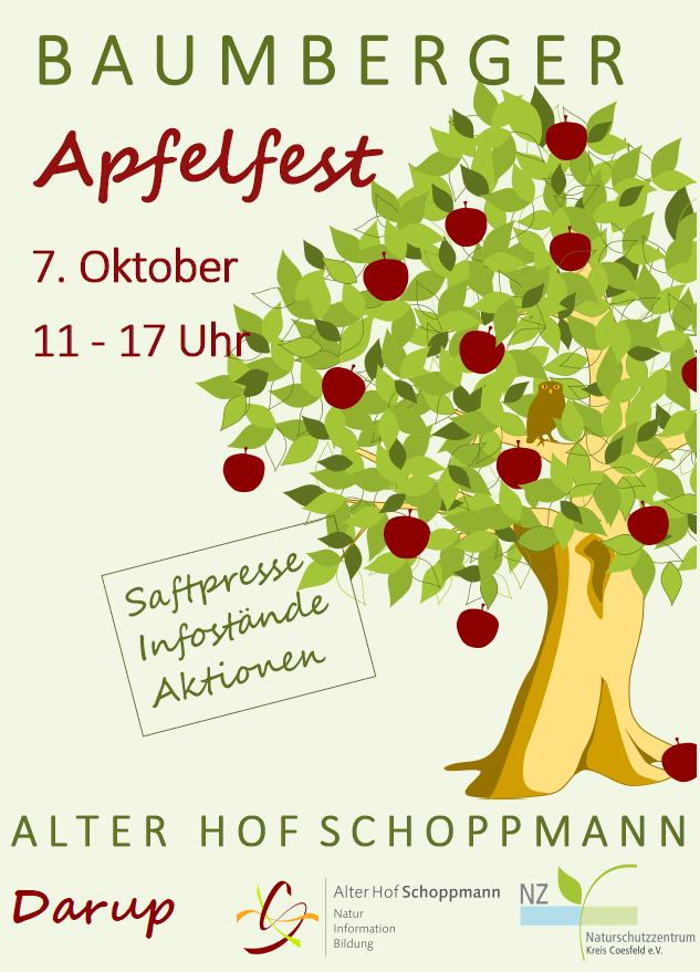 Baumberger Apfelfest 2018, Alter Hof Schoppmann, Darup