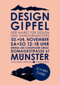 Flyer, Design Gipfel Münster