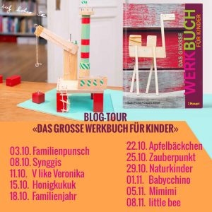 Huboi, Werkbuch, Haupt Verlag, Blogtour Banner