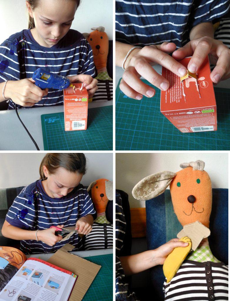 Das große Werkbuch für Kinder, Blogtour, Honigkukuk, Toaster basteln, Arbeitsschritte