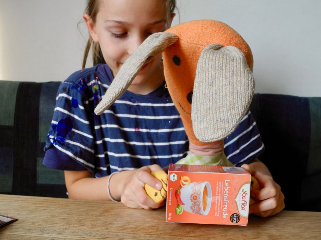 Das große Werkbuch für Kinder, Blogtour, Honigkukuk, Toaster basteln aus Teeschachtel