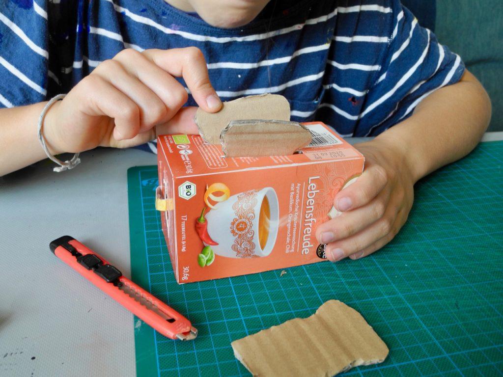 Das große Werkbuch für Kinder, Blogtour, Honigkukuk, Toaster aus Teeschachtel