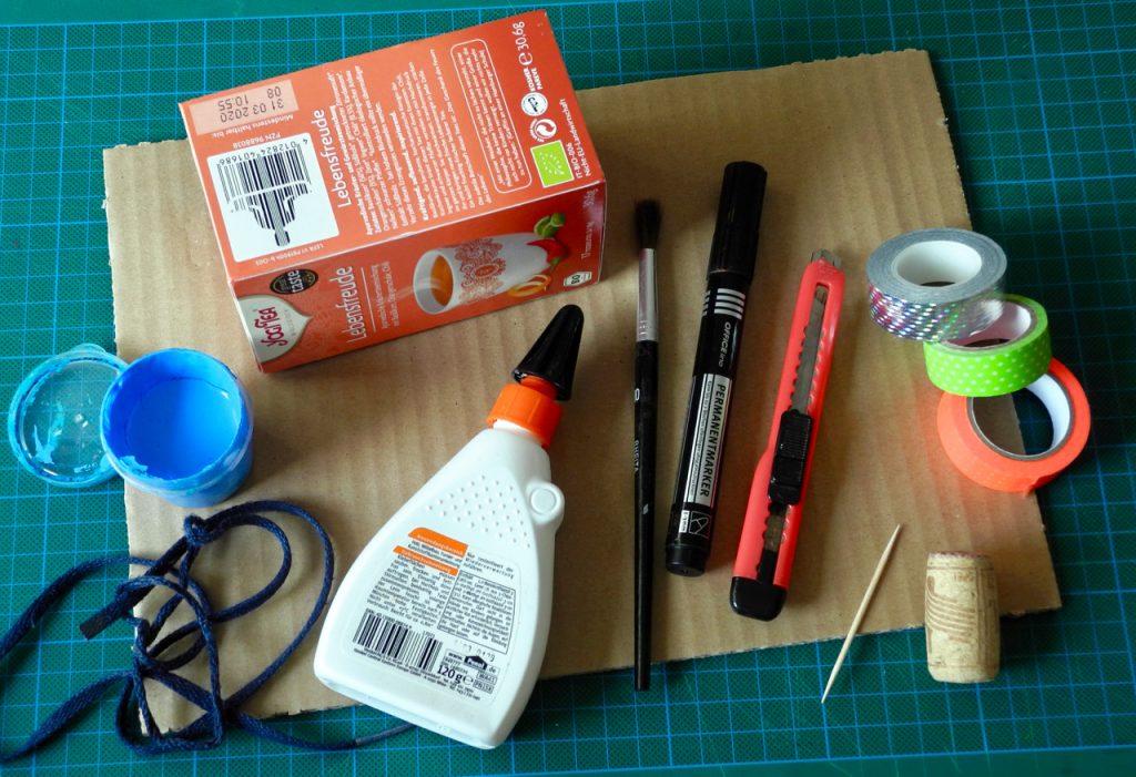 Das große Werkbuch für Kinder, Blogtour, Honigkukuk, Toaster basteln, Materialübersicht