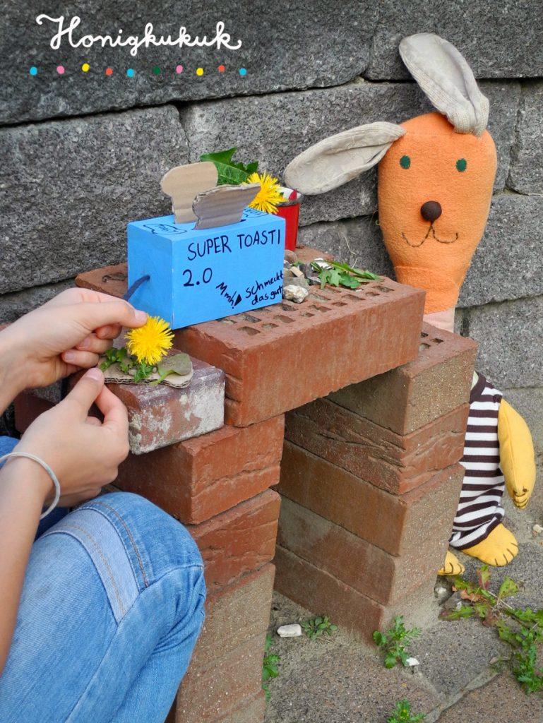 Das große Werkbuch für Kinder, Blogtour, Honigkukuk, Gartenküche