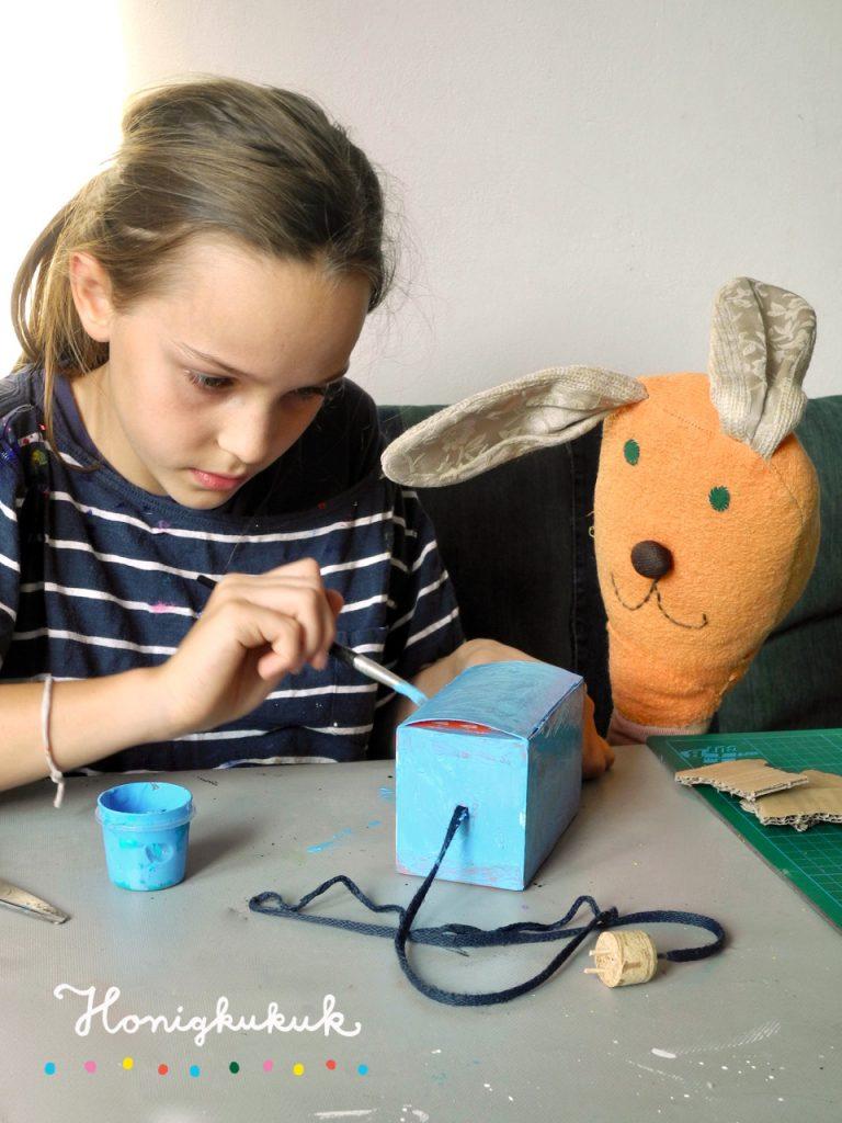 Das große Werkbuch für Kinder, Blogtour, Honigkukuk, Toaster basteln
