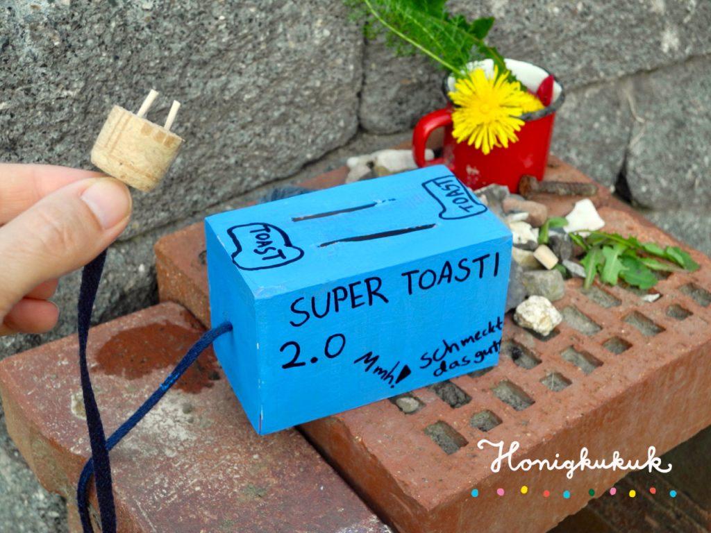 Das große Werkbuch für Kinder, Blogtour, Honigkukuk, Toaster in der Gartenküche