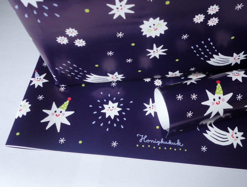 Geschenkpapier,Honigkukuk-Shop, Etsy, Papeterie