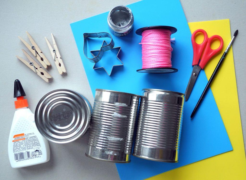 Honigkukuk, Upcycling-Adventskalender, Bastelanleitung, Materialübersicht