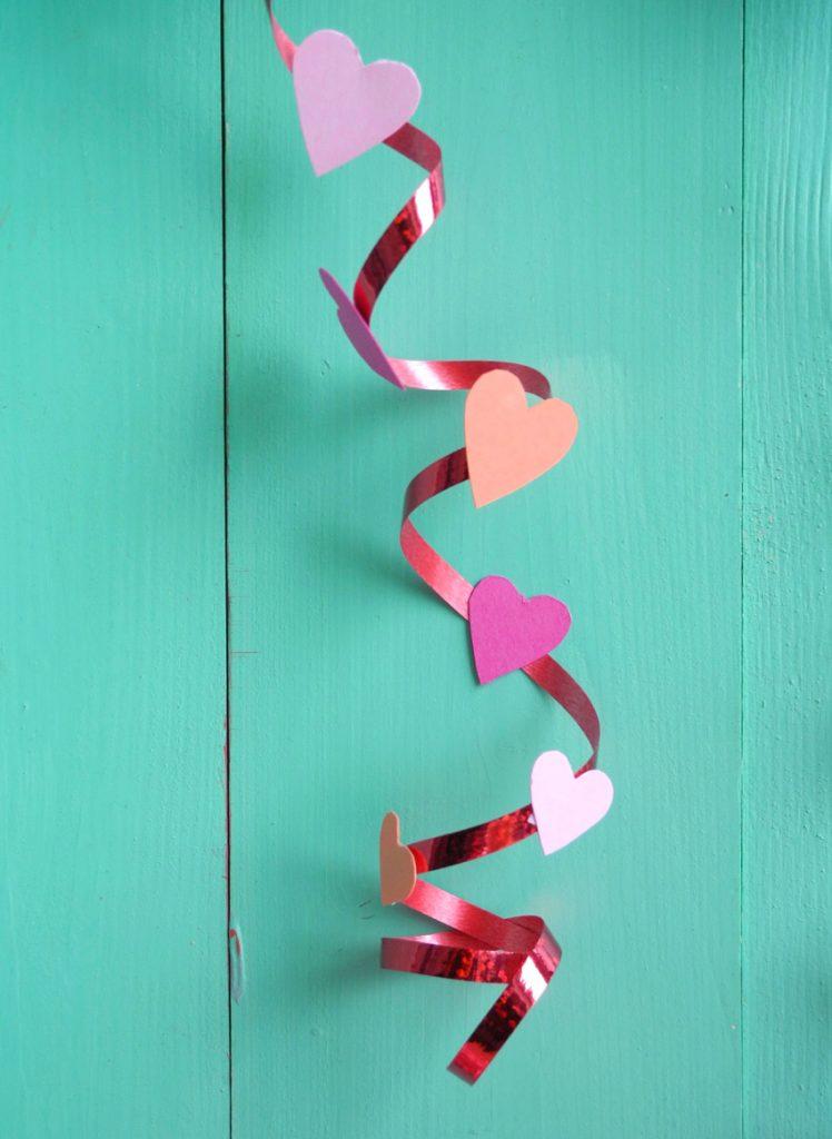 Herz-Drachen, DIY zum Valentinstag, Drachenschnur