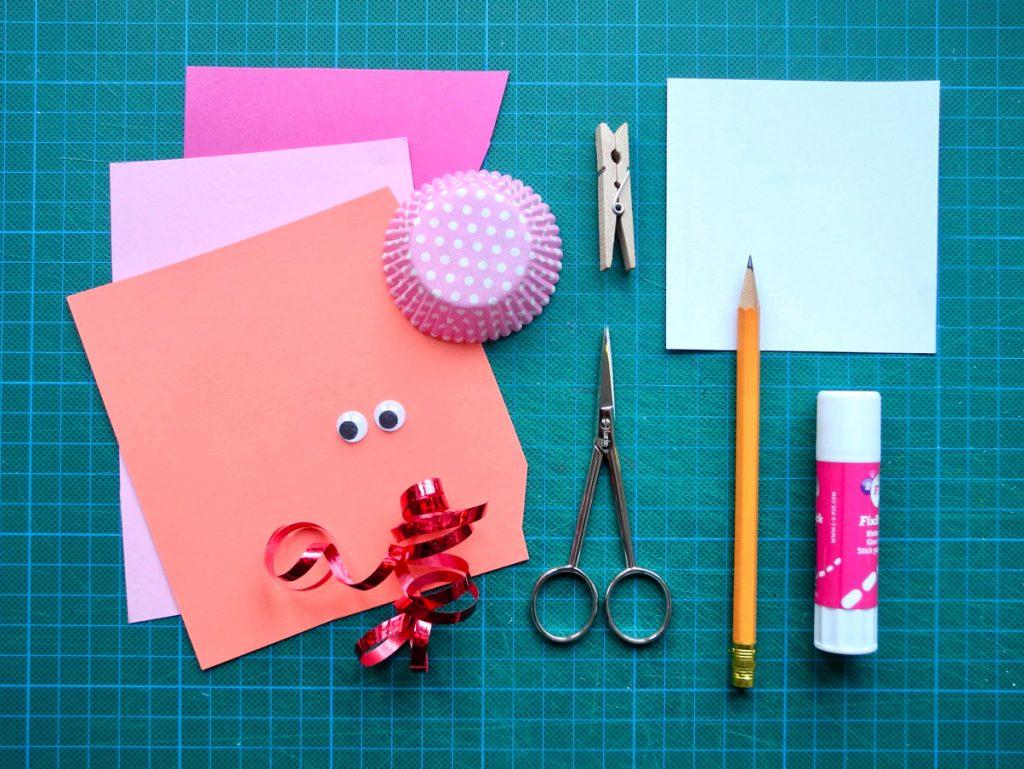 Herzchen, DIY zum Valentinstag, Material
