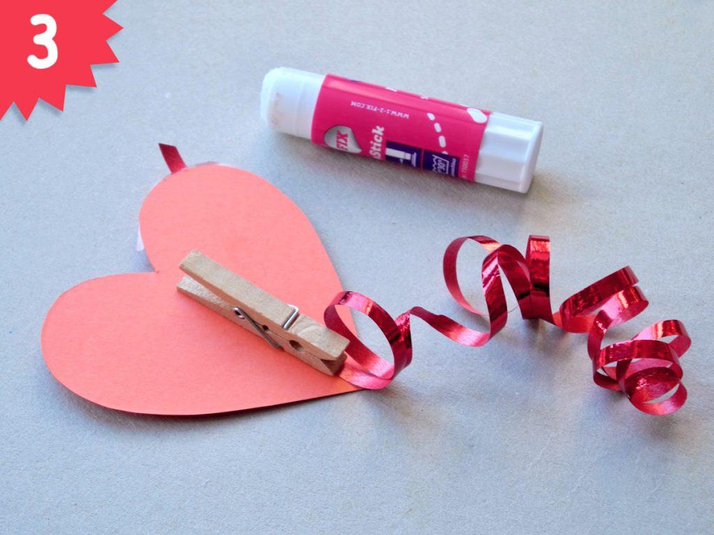 Herzchen, DIY zum Valentinstag, Step 3