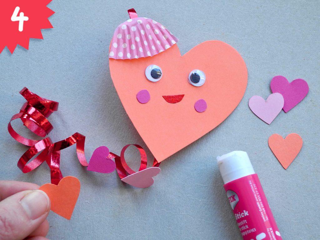 Herzchen, DIY zum Valentinstag, Step 4