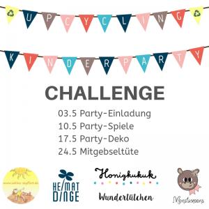 Instagram Challenge, Upcyclingideen für Kindergeburtstage