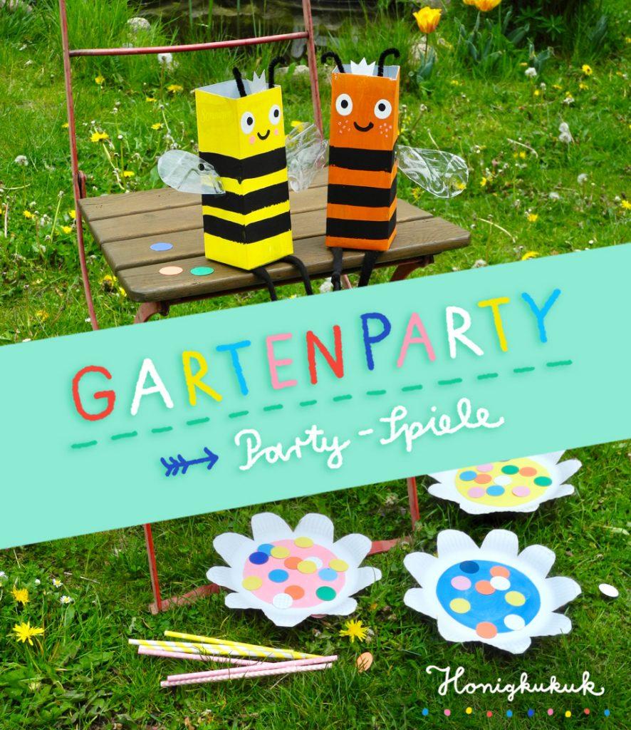 Kindergeburtstagsspiele für die Gartenparty, Upcyclingideen zum Spielen