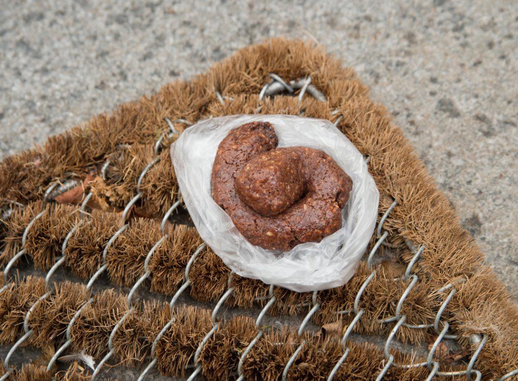 Kekse vor die Haustür legen…